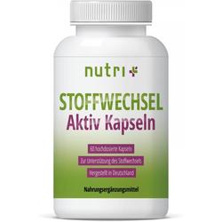 nutri+ Stoffwechsel Aktiv, 60 Kapseln