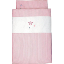 Kinderbettwäsche Sterne, Sterntaler®, mit Sternen rosa