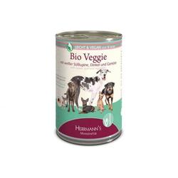 Herrmanns Dog Light Bio Veggie Süßlupine, Dinkel & Gemüse 400g (Menge: 12 je Bestelleinheit)