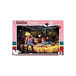 Bibi & Tina  Auf dem Heuboden (Kinderpuzzle)