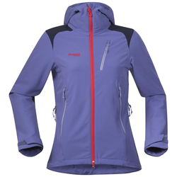 Bergans Cecilie Mountaineering Jacket anemone/navy/strawberry/lt anemone L