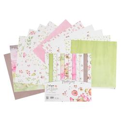 Renkalik Motivpapier Scrapbook-Papier Let your soul bloom, 12 Blatt