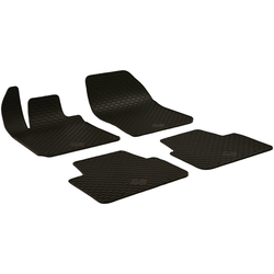 Walser Passform-Fußmatten (4 Stück), Peugeot 308 SW Kombi, für Peugeot 308 SW BJ 2014 - heute