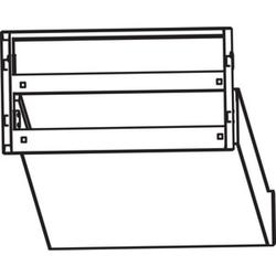 Ritto 1873470,Durchwurf-Briefkasten, weiß