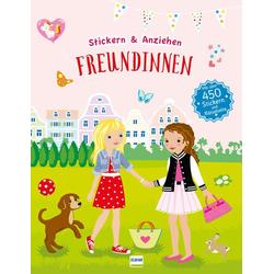 Freundinnen (Anziehpuppen Anziehpuppen-Sticker) als Buch von