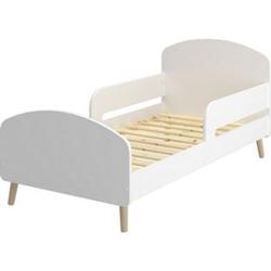 Gry Kinderbett Juniorbett 70x140 weiss Babybett Kinder Bett Kleinkind Holzbett