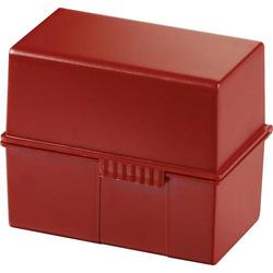 HAN 976-17 Karteibox Rot max. Anzahl der Karten: 400 Karten DIN A6 quer