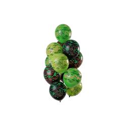 Folat Luftballon Luftballons Camo 30 cm, 12 Stück