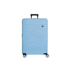 Bric's Trolley BY Ulisse 4-Rollen-Trolley L 79 cm erw., 4 Rollen blau