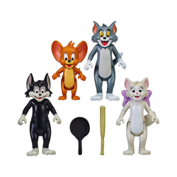 Moose Spielfigur Tom & Jerry Figuren 4er Set, 8 cm