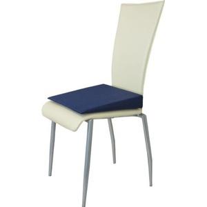 Orthopädisches Keilkissen Sitzkeilkissen Sitzkissen Sitzhilfe Kissen, dunkelblau