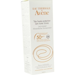 AVENE Mineralische Sonnenmilch SPF 50+ 2010