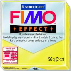 Modelliermasse Fimo soft 56g gelb transparent
