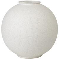 BLOMUS Rudea Vase, Lily White, H 24 cm, 65726