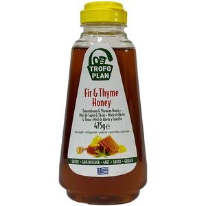TrofoPlan Griechischer Tannenbaum und Thymian Honig 475 g