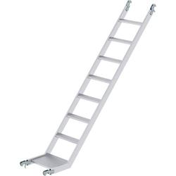 Günzburger Steigtechnik 27961 Schrägaufstieg unten für Gerüstlänge 1,80m Aufstiegsleiter 1,8m 1