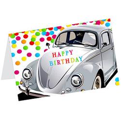 LUMA Geburtstagskarte Happy Birthday DIN B6