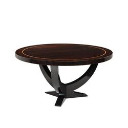Casa Padrino Designer Luxus Mahagoni Esstisch 150 x H. 78 cm - Hotel Tisch Möbel