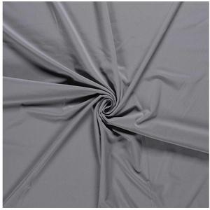 maDDma Stoff 0,5m Softshell-Stoff Outdoorstoff Funktionsstoff unifarben Farbwahl, steingrau grau