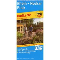 Rhein - Neckar - Pfalz 1:100 000
