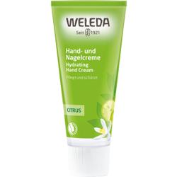 Weleda Citrus-Hand- und Nagelcreme, Pflegende Creme für brüchige Nägel, 50 ml - Tube