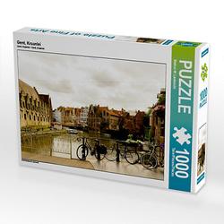 Gent, Kraanlei Lege-Größe 64 x 48 cm Foto-Puzzle Bild von Markus W. Lambrecht Puzzle