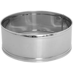 SCHNEIDER Puderzuckersieb, Edelstahlsieb mit feinem Gewebe, Durchmesser: 260 mm