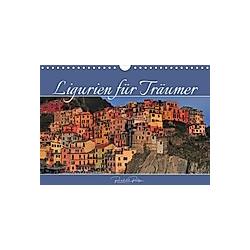 Ligurien für Träumer (Wandkalender 2021 DIN A4 quer)
