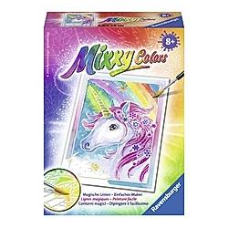 Mixxy Colors, Bildgröße 8,5 x 12 cm: Einhorn