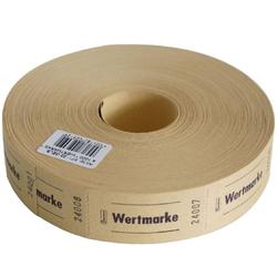 Avery Zweckform Geschirr-Set Wert-Marke 57x30mm 1000 Abrisse pro Rolle versch. (1000-tlg), Papier gelb