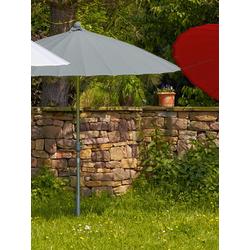 Sonnenschirm Simi grau, 247 cm
