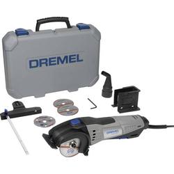 Dremel DSM 20-3/4 Mini-Kreissäge inkl. Zubehör, inkl. Koffer 8teilig 710W