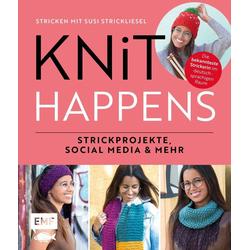 Knit happens - Stricken mit Susi Strickliesel als Buch von Susi Strickliesel