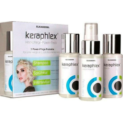 ELKADERM Haarpflege-Set Keraphlex Haarpflege Power-Pack, Set, 3-tlg., ganzheitliche Pflege