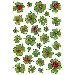 HERMA 5438 10x Sticker DECOR Kleeblätter