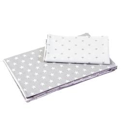 Kinderbettwäsche 100 x135 cm Babybettwäsche Kinderbettwäsche Bettwä, Divita-Mode grau