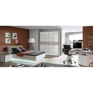 Jugendzimmer Rondino 5tlg Kinderzimmer Möbel 140er Bett Schwebetürenschrank 9870