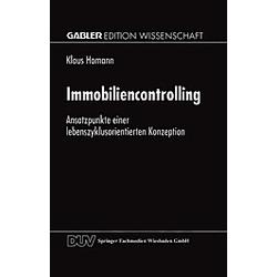 Immobiliencontrolling. Klaus Homann  - Buch