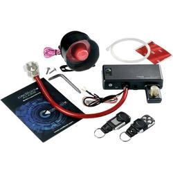 Cadillock Alarm Plus Auto Alarmanlage Wegfahrsperre, Erschütterungssensor, Inkl. Fernbedienung 12V