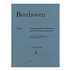 Klaviersonate Nr. 29 B-dur op. 106. Ludwig van - Klaviersonate Nr. 29 B-dur op. 106 (Hammerklavier) Beethoven  - Buch
