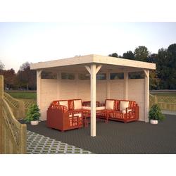 Palmako Gartenpavillon Lucy 12,2 m², mit Imprägnierung