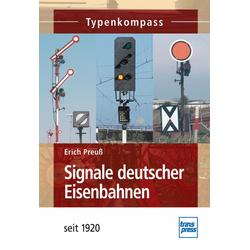 Signale deutscher Eisenbahnen: eBook von Erich Preuß
