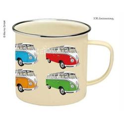 VW Collection Tasse Emaille VW Bulli Beige