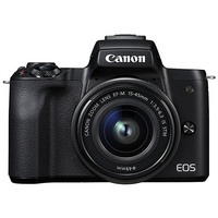 Canon EOS M50 schwarz + 15-45mm IS STM + 55-200mm IS STM