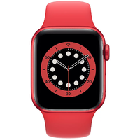 Apple Watch Series 6 GPS + Cellular 40 mm Aluminiumgehäuse (product)red, Sportarmband (product)red