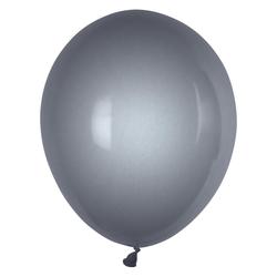 Luftballons silber Ø 250 mm, Größe 'M', 100 Stk.