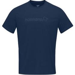 Norrona - Norrona Tech T-Shirt M Indigo Night - T-Shirts - Größe: XL
