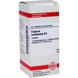 ERIGERON CANADENSIS D 6 Tabletten 80 St