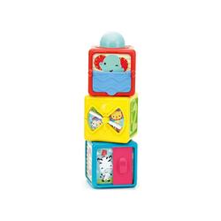 Mattel® Stapelspielzeug Fisher-Price Spiel- und Stapelwürfel