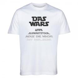 "T-Shirt Junggesellenabschied ""DAS WARS - Bräutigam"""